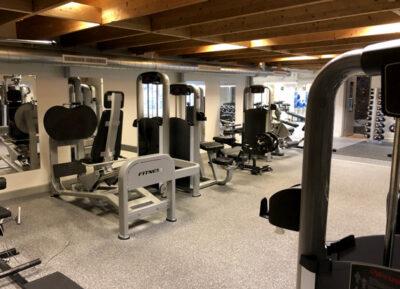 Gym på Idrottshuset i Växjö